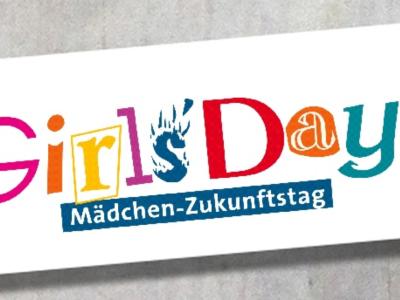 Werbebanner des Girls Days-Mädchen Zukunftstag